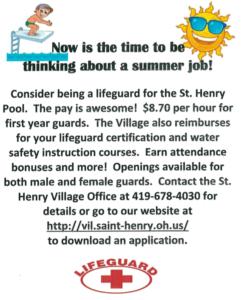 Summer job openings final date